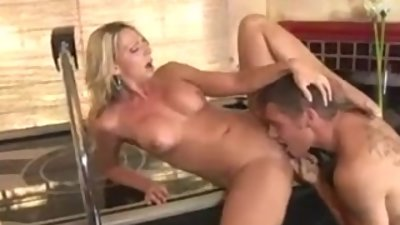 HOT MOM Seduces Son's Friend