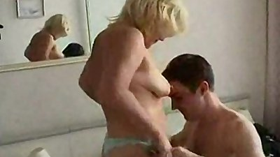Hot mom drilled by her son - video 12611852