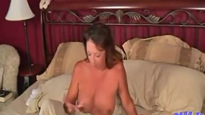 son fuck step mom while she sleeping.... very hot