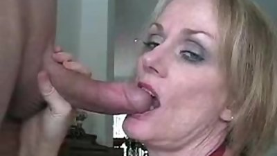 Renna from DATES25.COM - Stepmom blows stepsons cock