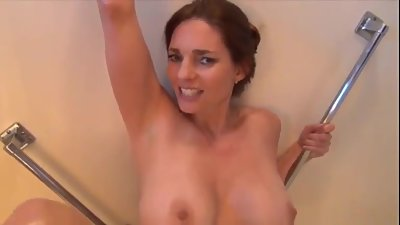 POV Son fucked his mother in the shower - hot face 2 face fuck