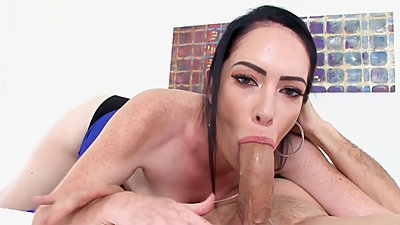 Cougar Bella Maree POV MILF Blowjob Cum Swallow CougarSeason