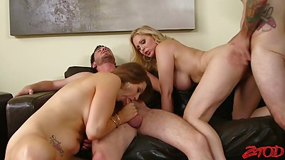 Julia Ann,Allison Moore,Dane Cross Orgy