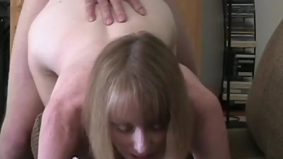 Melanie Lets Her Son Fuck Her