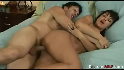 Mom fuck son , lisa ann