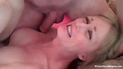 Granny Has Intense 3some