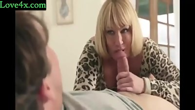 Hot Mom fucking her Son for the First Time