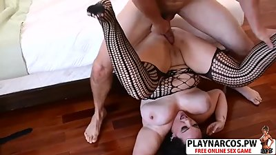 Beautiful StepMother Charlotte Angel Fuck Hot Teen Step son