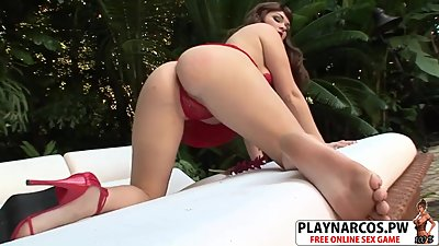 Super Step Mommy Claudia Downs Fucks Hard Touching Bud