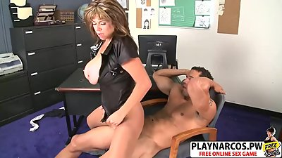 Curvy StepMother Angelina Verdi Wants To Fuck Hot Her Son's Friend