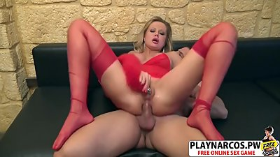 Beautiful Stepmom Joanna De Chainee Gets nailed Sweet Young Step-son