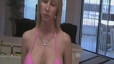 Hot Busty Mom With BF
