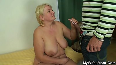 Wife angry cause I just fucked her mom