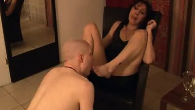 Dominant Mom and NOT her Son