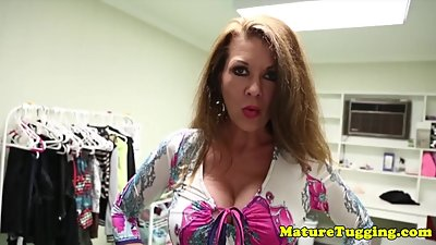 Bigtitted mom titfucking stepsons taboo cock