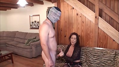 Mom punishes son for masturbation