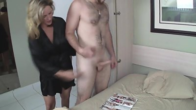Mom Helps Son Masturbate