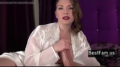 Mom makes a amazing handjob!!- FREE TABOO videos at BESTFAM.US