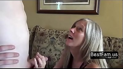Mom severely punishes her Son!! - FREE Family Sex videos at BESTFAM.US