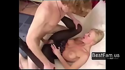Mom wakes up son in the best way!! - FREE TABOO videos at BESTFAM.US