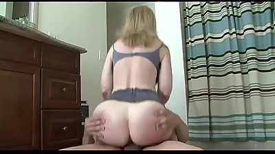 Horny Mom Seduces Her Son'_s friend and getting all his cum