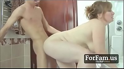 Fat Mother Fucks Her Own SON - FREE MOM Videos at ForFam.us