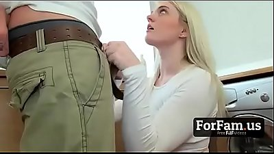 Mom'_s Boyfriend Found My White Pussy!- FREE Full Family Videos at ForFam.us