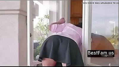 Mom gets stuck and her two sons help her - FREE TABOO videos at BESTFAM.US