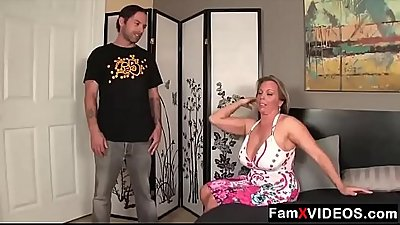 Mom gives her son a handjob - FREE Family Sex Videos at FamXvideos.com