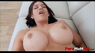 Sexy Big Tits MILF Stepmom Is Her Son'_s Sex Therapist