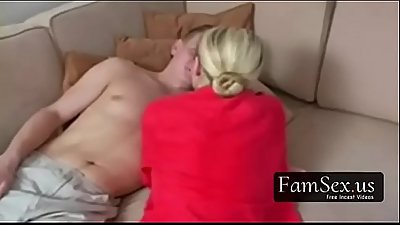 Mom wakes up and seduces her Son!! - FREE FAMILY SEX videos at FAMSEX.US