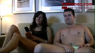 Mom Watches Porn with Son! - FREE MOM videos at INSTAMEO.COM