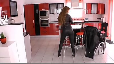 Best Mom Leather Heels Stockings Wanking. See pt2 at goddessheelsonline.co.uk