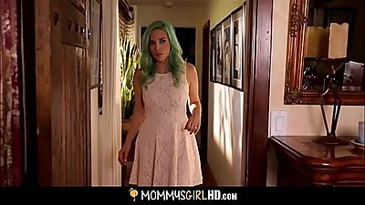 Hot MILF Fucks Sons Teen Girlfriend