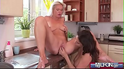 Busty mature lesbians pussy eating(Anissa Kate &amp_ Kathy Anderson) 02 vid-06