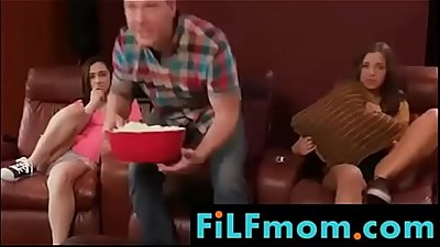 Mom loves son on bed - FREE Full Family Sex Videos at FiLFmom.com