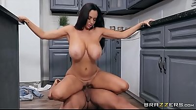 Busty mom Ava Addams riding her daughter'_s BF'_s big black cock  www.x18.space