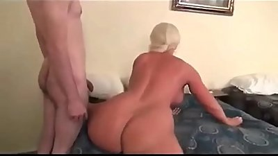 Big Titted Cougar Mom Fucks Son
