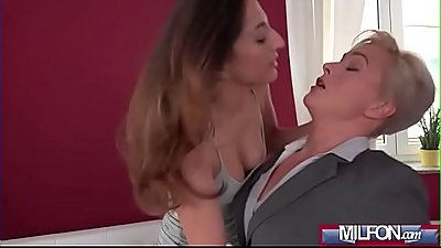 Horny student woken by estate agent(Jimena Lago &amp_ Kathy Anderson) 01 video-09