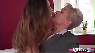 Horny student woken by estate agent(Jimena Lago &amp_ Kathy Anderson) 01 clip-12