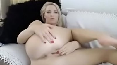 a sexy ex wife finger her pussy on private camera