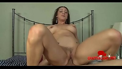 Hot MILF Stepmom Fucks Stepson Rough Time