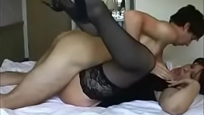 Amateur Milf Getting Fucked By Younger Boy - Watch Part2 on porn4us.org