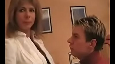 Hot German Mom Teaches Son - Watch Part2 on porn4us.org