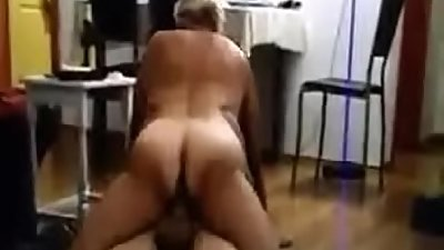 sexy ass grandma riding her young grandson'_s cock--Thefamilysextube.com