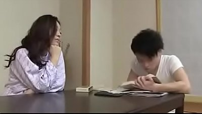 Japanese Mom with Son Drink And Fuck - Watch Part2 on porn4us.org