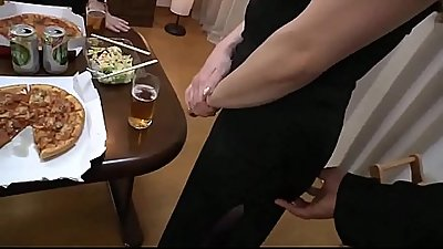 Chubby Japanese Wife And Fucked - Watch Part2 on porn4us.org