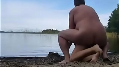 Mom Has Son Fuck Her Outdoors