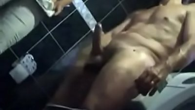 Indian Mom Services Her Son In Toilet