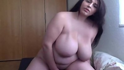 Sexy BBW Rides then Fingers on Cam - http://bit.ly/2bFKXq9